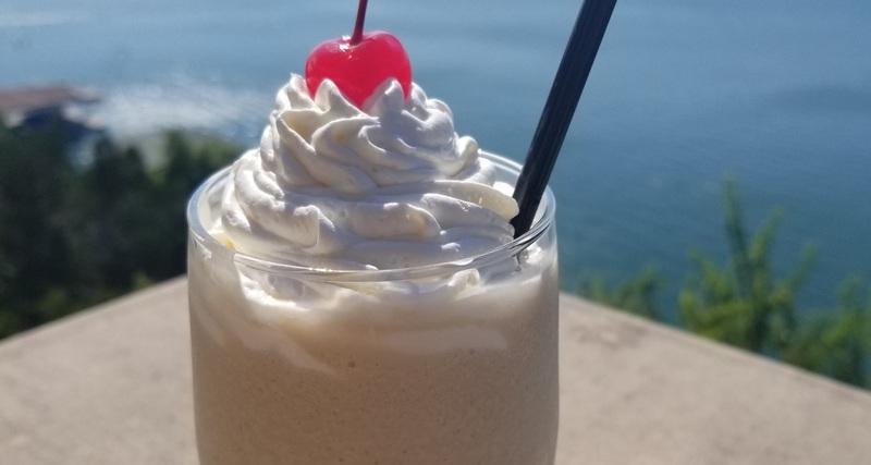 boozy chocolate shake