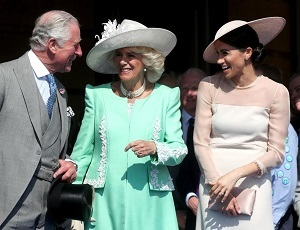 Meghan Markle meeting Prince Charles and Camilla Parker Bowles