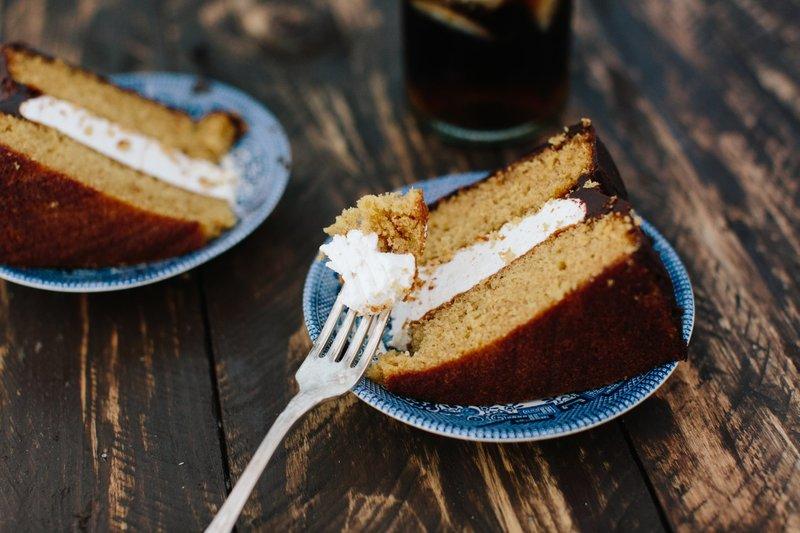 MoonPie cake slice