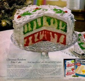jell-o poke cake ad