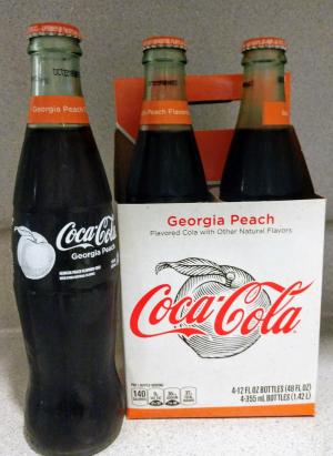 coca cola peach