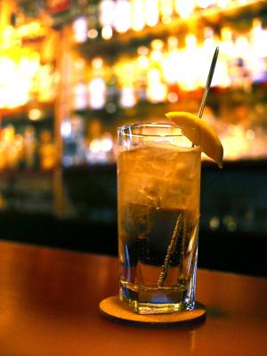 highball at a bar