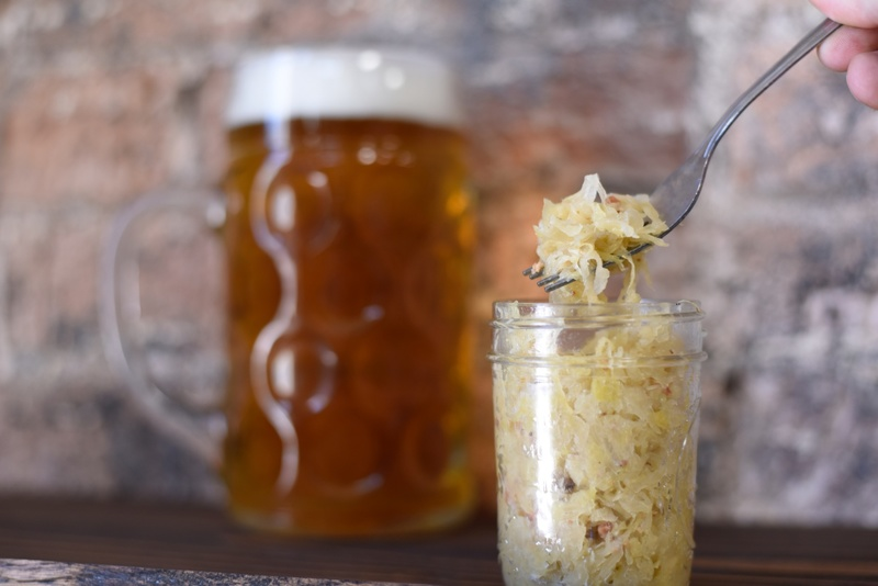 sauerkraut and beer