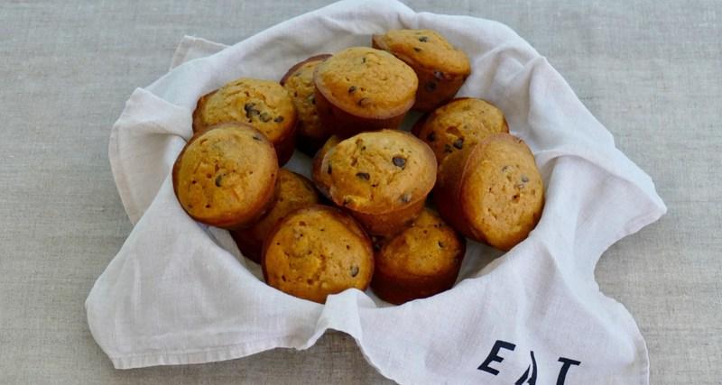 squash walnut muffins