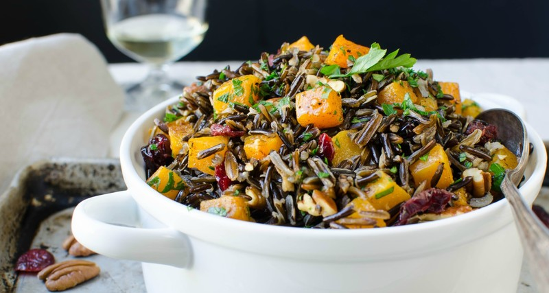 butternut wild rice pilaf