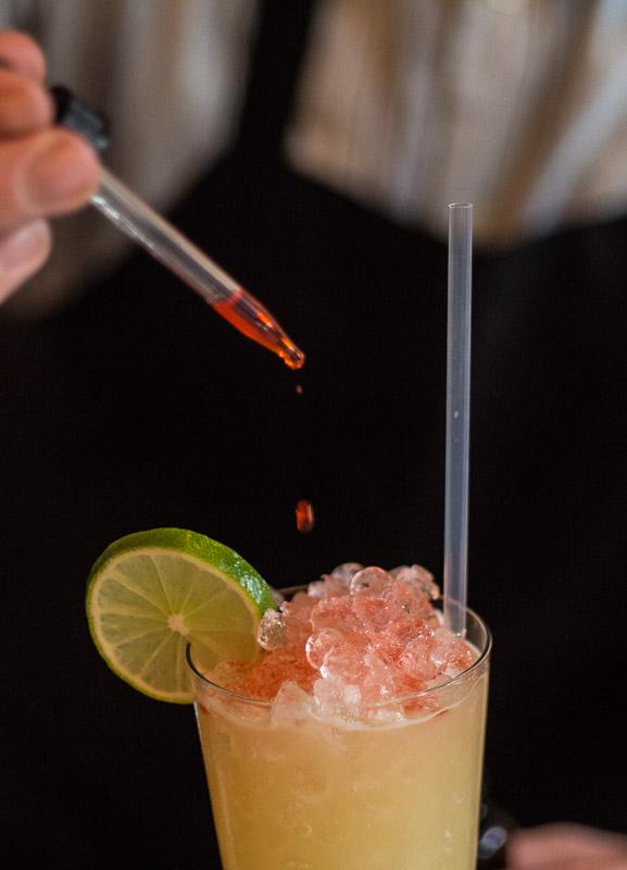 vintage New Orleans rum cocktail