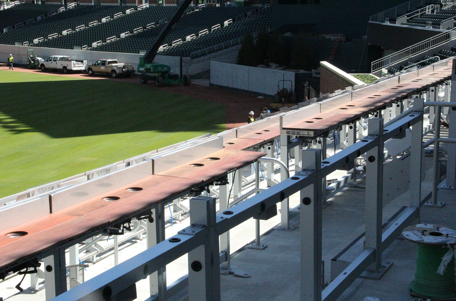 Sun Trust Park Beer Cooler Stands