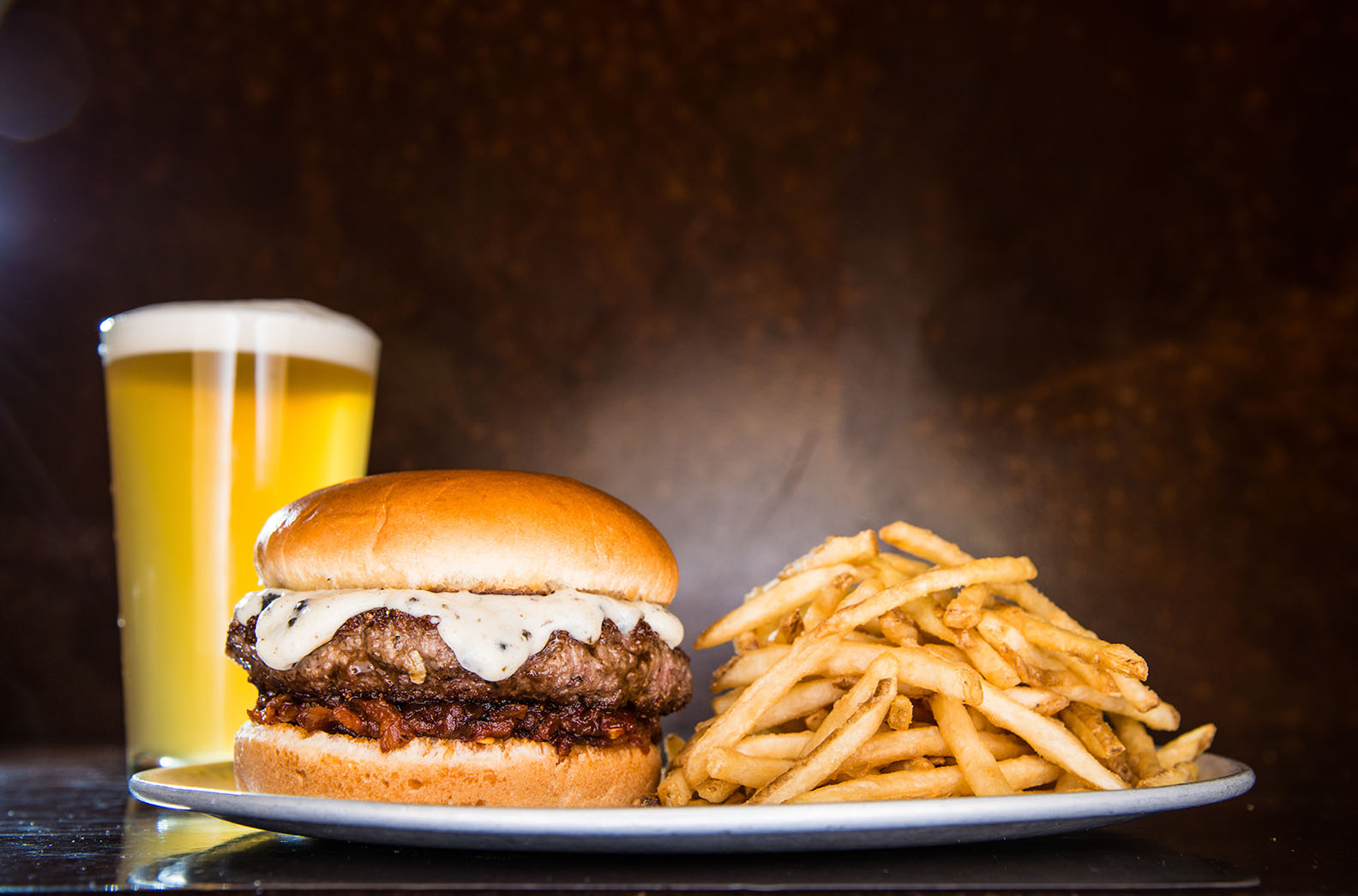 SunTrust Park Yard House burger
