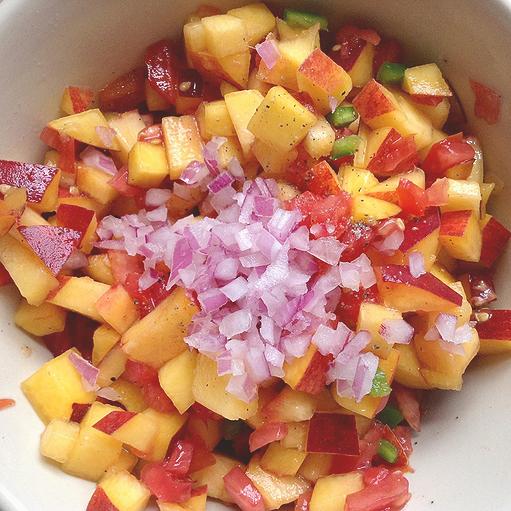 Peach Salsa 320x320