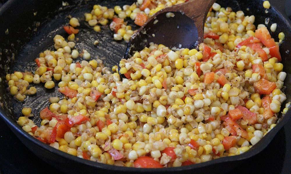 corn skillet by chadwick boyd