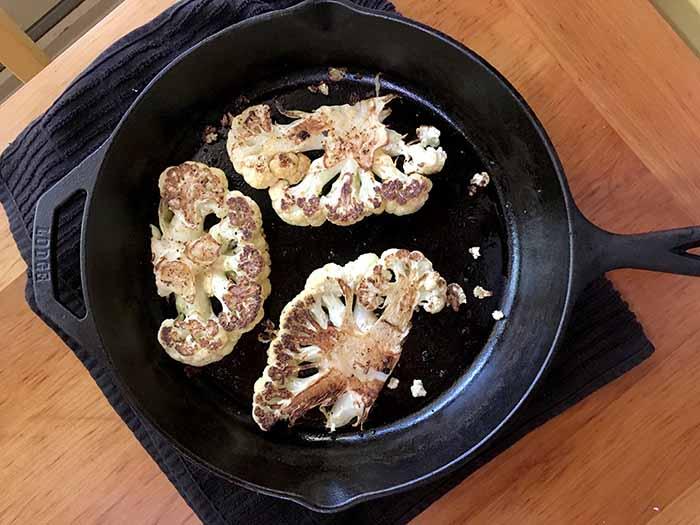 Cauliflowerskillet