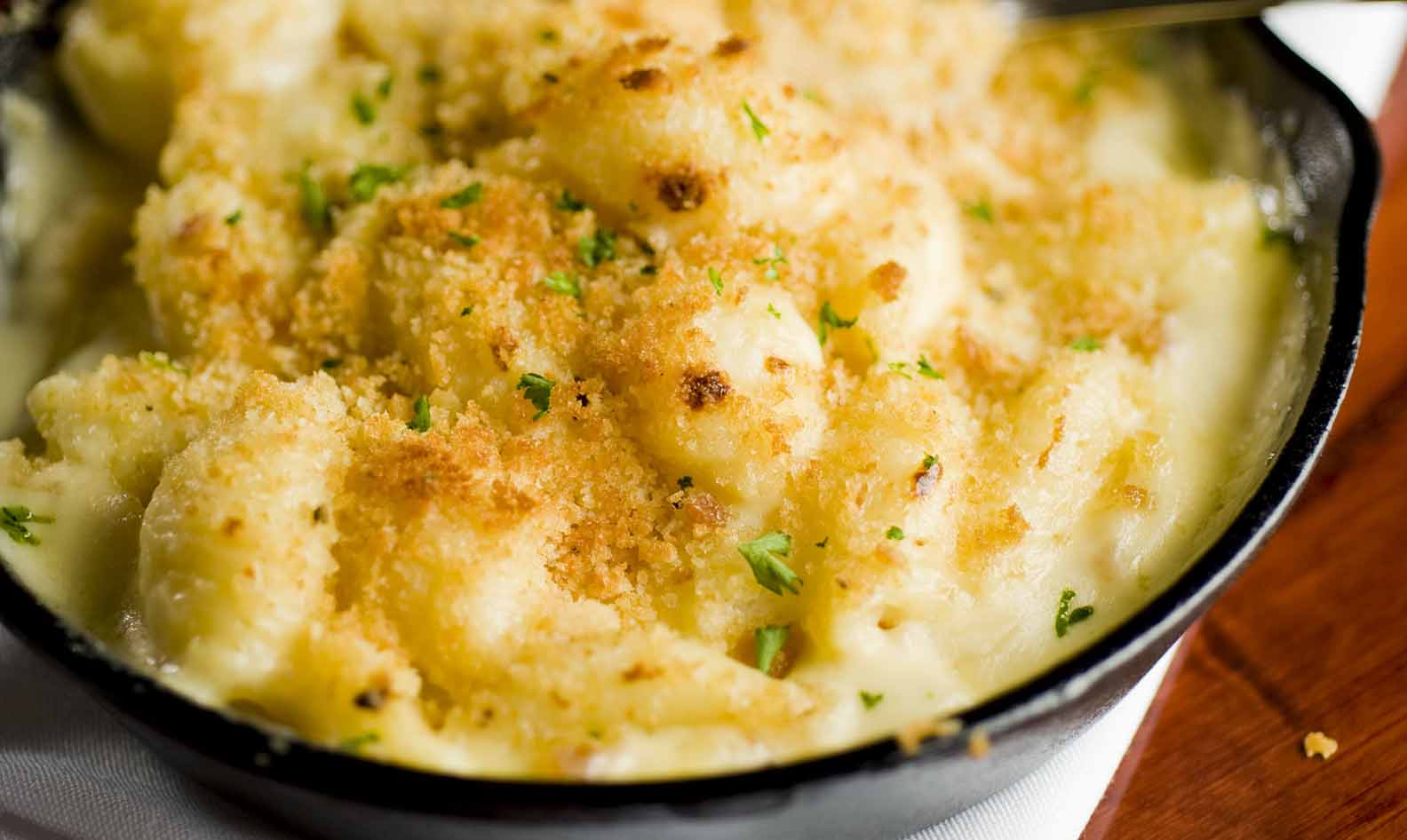 Steakhouse Mac And Cheese Recipe Swiss Cheeses