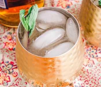 Bourbon-Mint Strong Palmer Cocktail