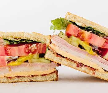 Beach sandwiches