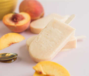 Peaches 'n Cream Popsicle