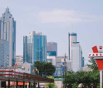 The original Varsity in Midtown Atlanta
