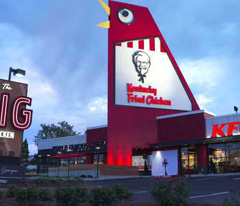 The Big Chicken in Marietta, Georgia