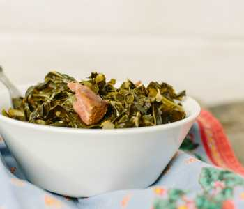 collard greens with ham
