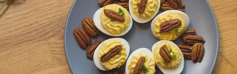 How to make Southern Pecan Deviled Eggs