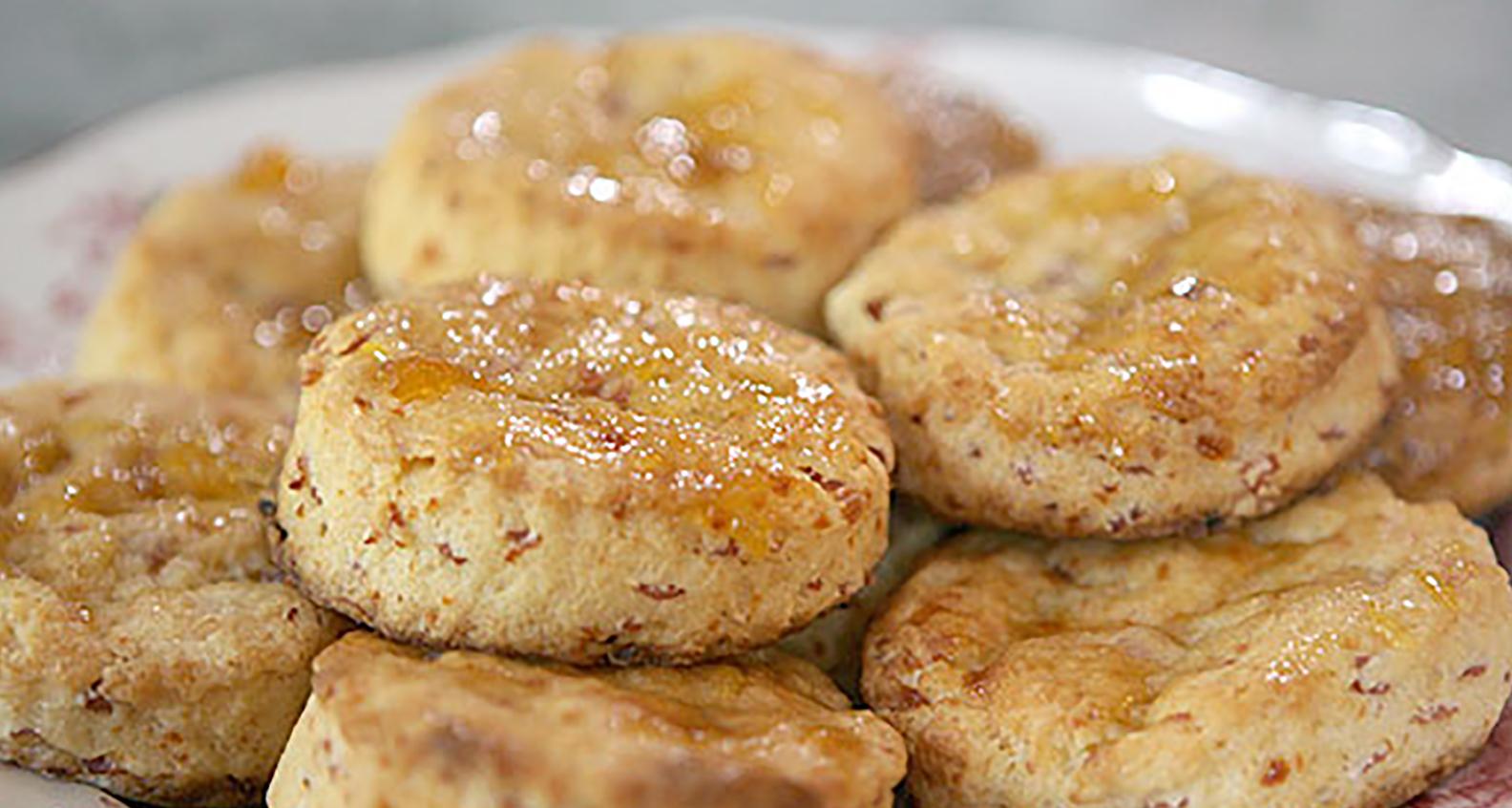 Hampeach biscuit