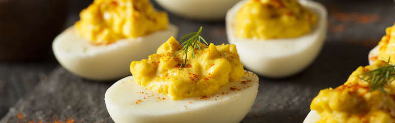 Put a creative spin on your deviled eggs with these 5 recipes