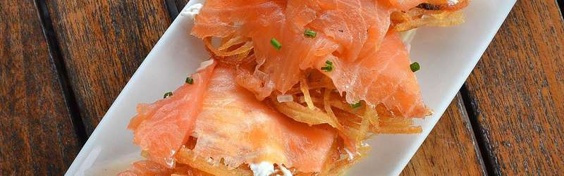 Food wine happiest places smoked salmon credit ajc
