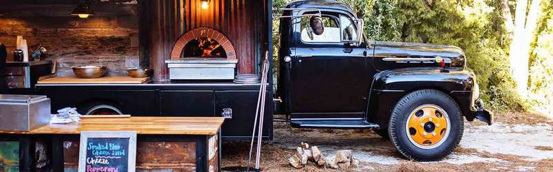 Southern crust pizza truck
