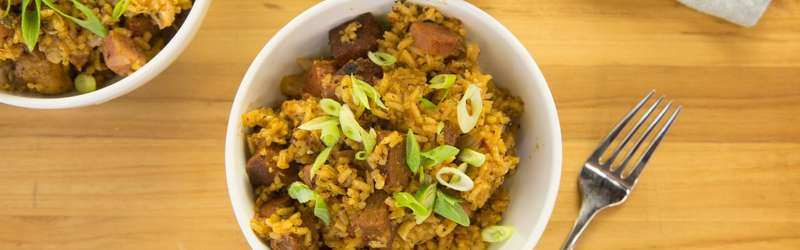 Chicken and sausage jambalaya hero size credit maura friedman
