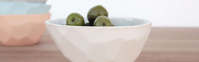 Bean and bailey bowl of olives