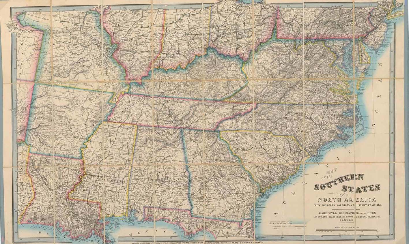 Map Of Southern Us States - Map southern states us