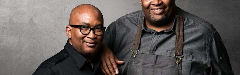 Restaurateur reggie washington and exec chef duane nutter  credit matthew coughlin hero