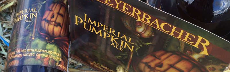 Imperial Pumpkin Ale from Weyerbacher Brewing in Easton, Penn.