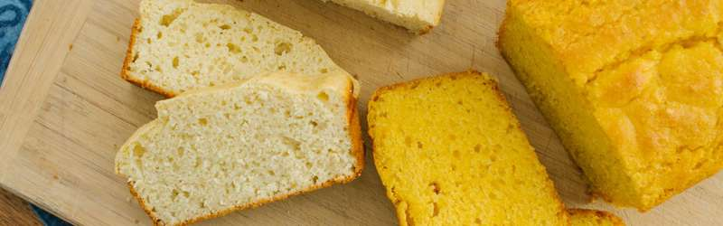Corn light breads