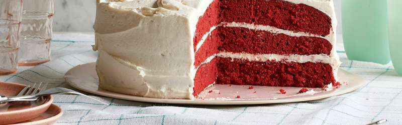 Red velvet cake hero mitch mandel