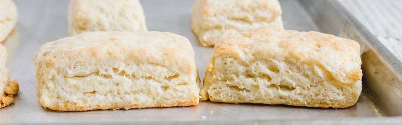Butter vs shortening biscuits