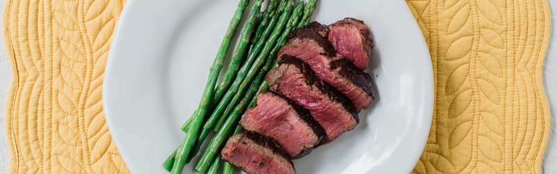 sliced filet