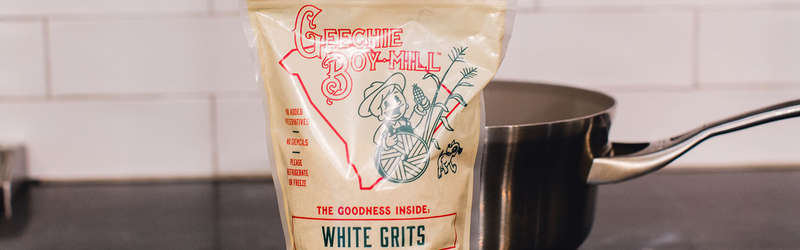 Geechie Boy Mill White Grits