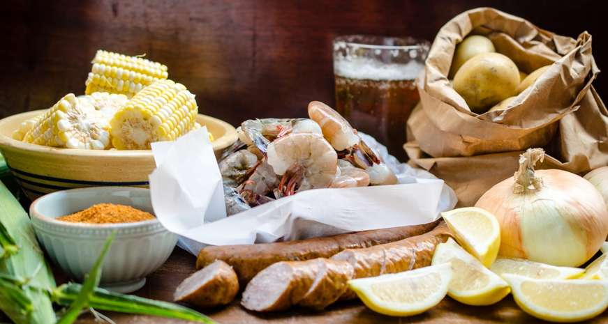 How to make an authentic Low Country boil on the stovetop | Southern