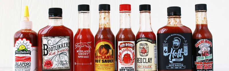 Southern hot sauces