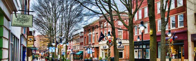 downtown charlottesville virginia