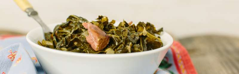 collard greens with ham