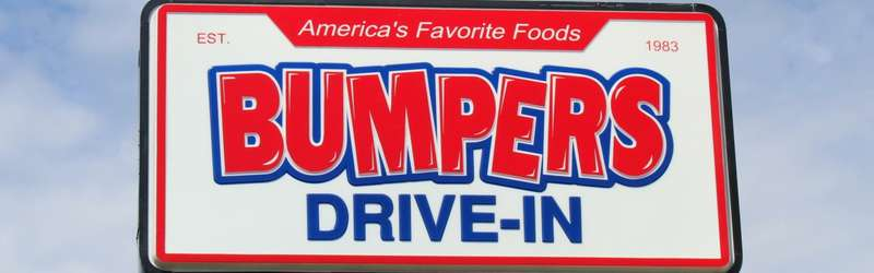 Bumpers sign 1584