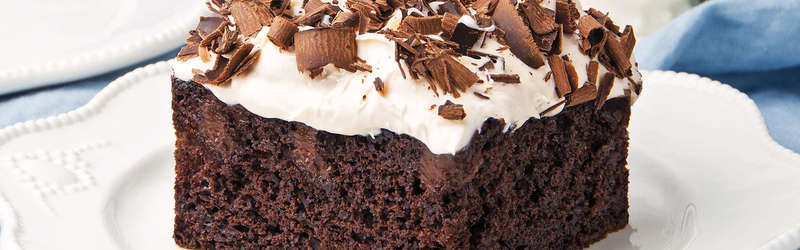 mexican chocolate poke cake