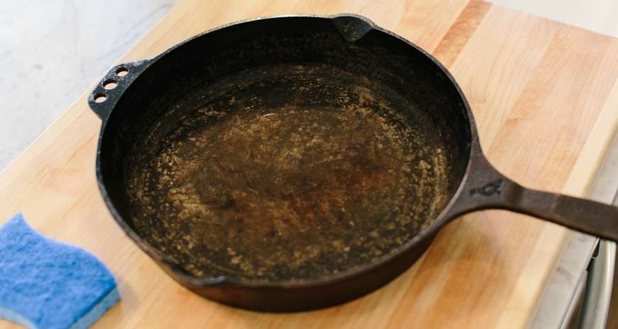 Southern Kitchen Guide How To Clean A Rusty Cast Iron