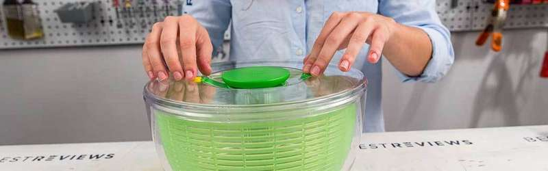Three best salad spinners