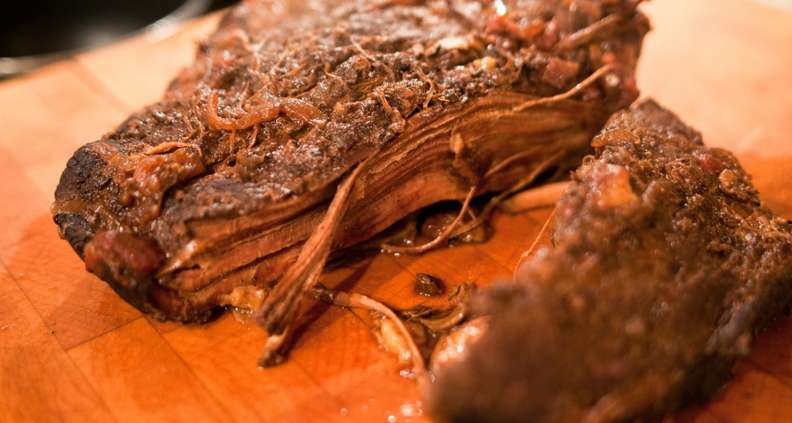 Low and Slow Braised Beef Brisket