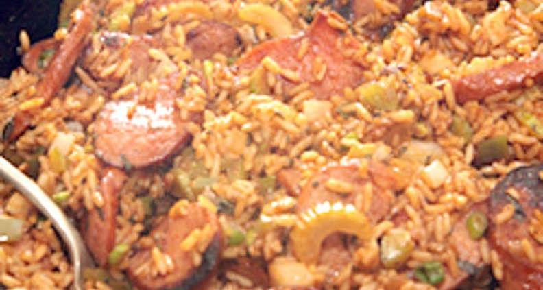 Louisiana-style Breakfast Rice