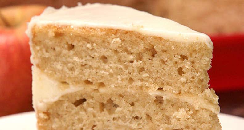 Triple Layer Applesauce Cake