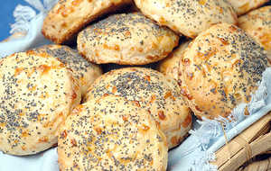 Cheddar Cheese-Poppy Seed Biscuits