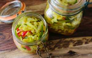 Cabbage and Green Tomato Chow Chow